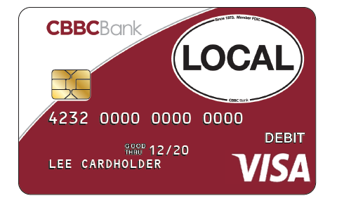Instant Credit Card Approval With Number >> Debit Cards › CBBC Bank
